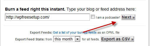 Submit WordPress Blog feed How to Create WordPress Blog Feed Using Feedburner
