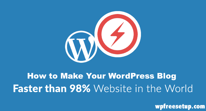 How to Speed Up WordPress Website