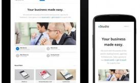 Download eStudio : A Responsive WordPress Business Blog Theme