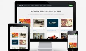 Boxes : A Responsive Grid Layout WordPress Theme