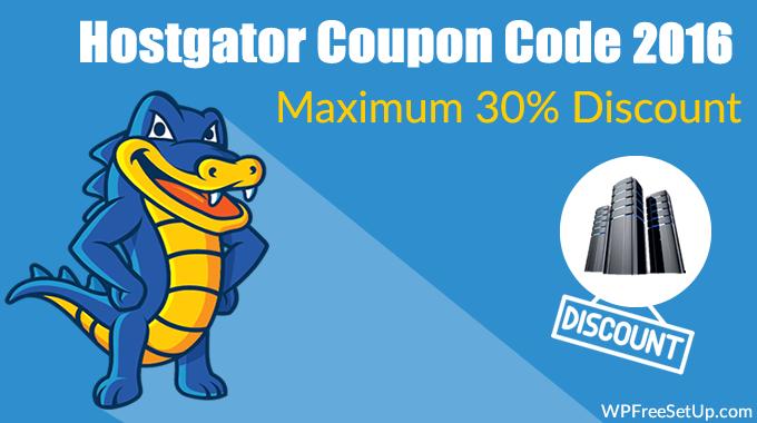 Hostgator Maximum Discount Coupon Code 2016